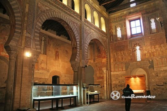 Church of Saint Roman: Visigothic, Mozarabic and romanesque art's in Toledo. Spain.