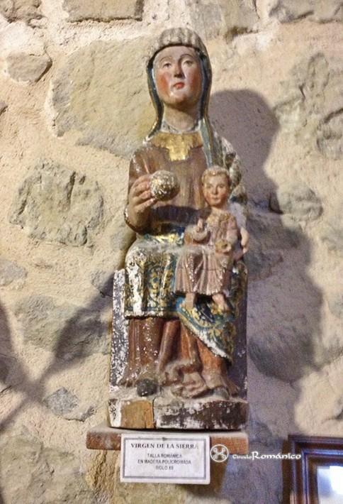 Talla Virgen de la Sierra